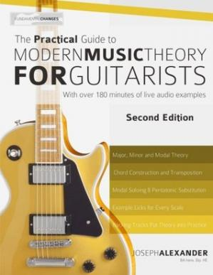 Portada del libro The Practical Guide to Modern Music Theory for Guitarists: Second Edition
