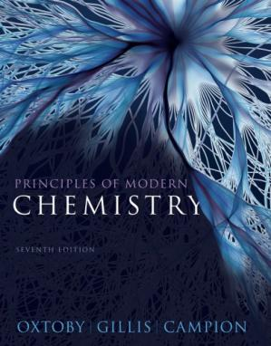 Book cover Principles of Modern Chemistry