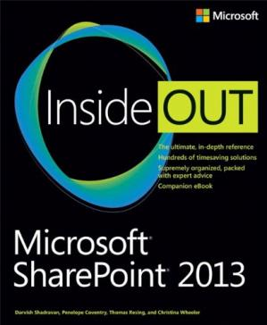 Copertina Microsoft SharePoint 2013 Inside Out
