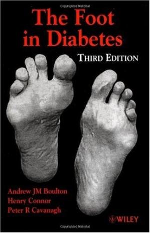 Book cover The Foot in Diabetes, 3rd Edition