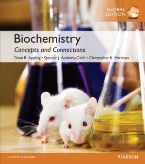 Book cover Biochemistry: concepts and connections