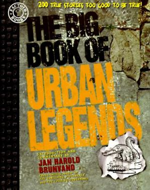 غلاف الكتاب The Big Book of Urban Legends: Adapted from the Works of Jan Harold Brunvand