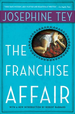 Book cover The Franchise Affair