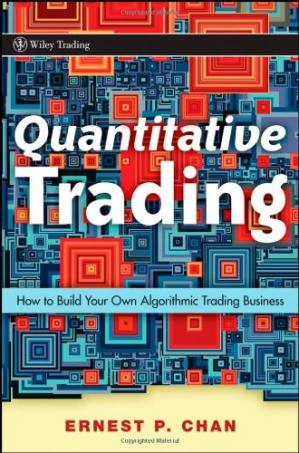 पुस्तक कवर Quantitative Trading: How to Build Your Own Algorithmic Trading Business
