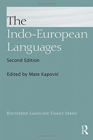 غلاف الكتاب The Indo-European Languages