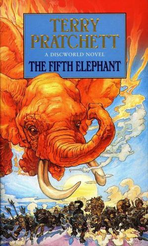 Book cover The Fifth Elephant