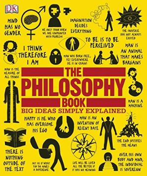 کتاب کی کور جلد The Philosophy Book (Big Ideas Simply Explained)