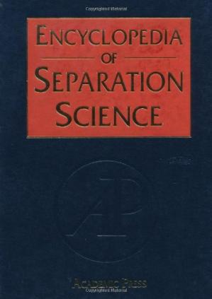 Обкладинка книги Encyclopedia of Separation Science