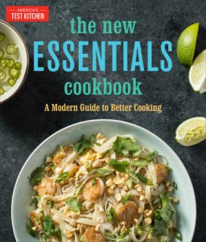 पुस्तक कवर The New Essentials Cookbook: A Modern Guide to Better Cooking