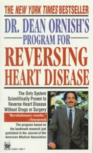 A capa do livro Dr. Dean Ornish's Program for Reversing Heart Disease: The Only System Scientifically Proven to Reverse Heart Disease Without Drugs or Surgery