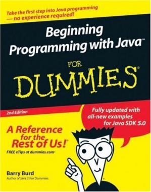 Book cover Beginning Programming with Java For Dummies
