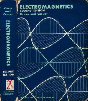 Book cover Electromagnetics with Applications