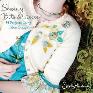 A capa do livro Sewing Bits and Pieces: 35 Projects Using Fabric Scraps