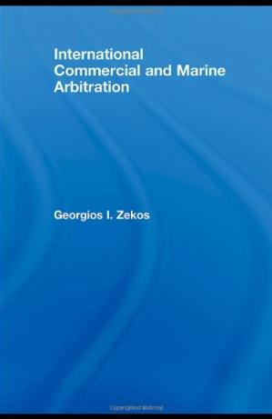 Εξώφυλλο βιβλίου International Commercial and Marine Arbitration (Routledge Research in International Commercial Law)