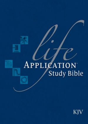 पुस्तक कवर Life Application Study Bible KJV