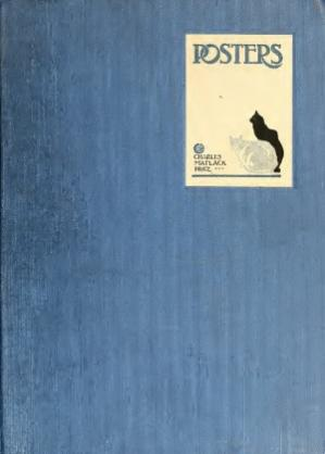 Book cover Posters. А critical study of the development of poster design in continental Europe, England and America
