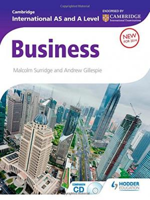 Copertina Cambridge International AS and A Level Business