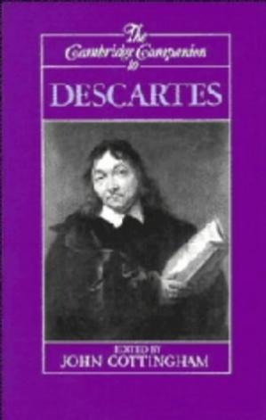 Copertina The Cambridge Companion to Descartes