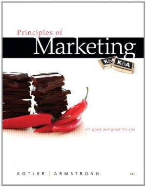 Portada del libro Principles of Marketing (14th Edition)