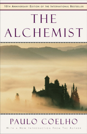 Book cover The Alchemist
