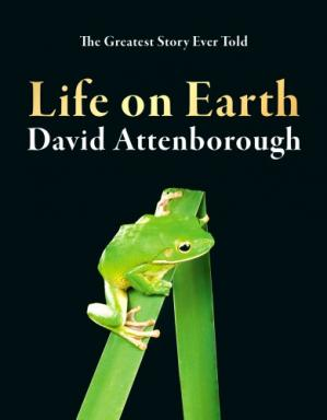 A capa do livro Life on Earth
