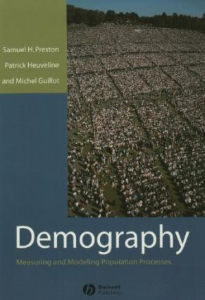 书籍封面 Demography: Measuring and Modeling Population Processes