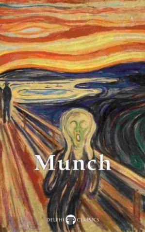 Book cover Delphi Complete Paintings of Edvard Munch (Illustrated)