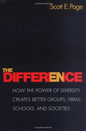Sampul buku The Difference: How the Power of Diversity Creates Better Groups, Firms, Schools, and Societies