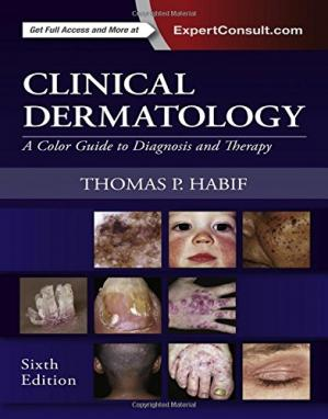 Book cover Clinical Dermatology: A Color Guide to Diagnosis and Therapy