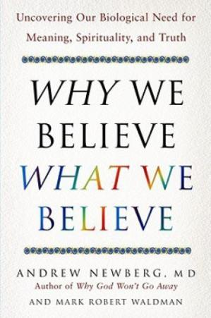 Book cover Why We Believe What We Believe: Uncovering Our Biological Need for Meaning, Spirituality, and Truth
