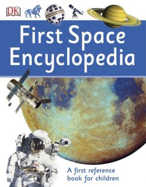 Buchdeckel First Space Encyclopedia