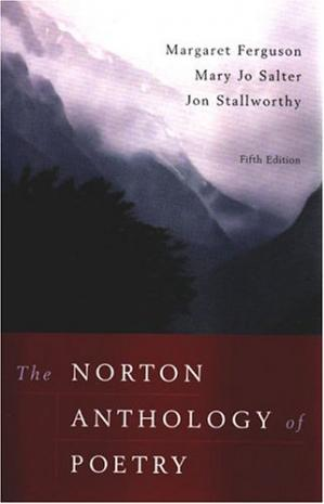 Book cover The Norton Anthology of Poetry