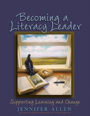 Εξώφυλλο βιβλίου Becoming a Literacy Leader: Supporting Learning And Change