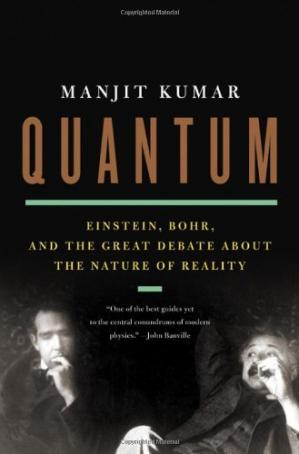 Sampul buku Quantum: Einstein, Bohr, and the Great Debate about the Nature of Reality