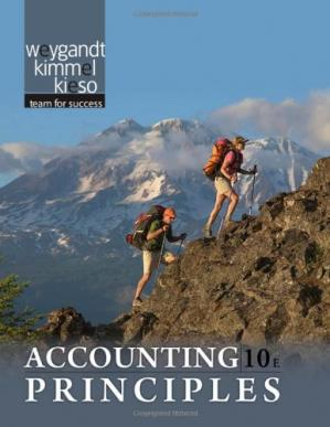 Book cover Accounting Principles , Tenth Edition
