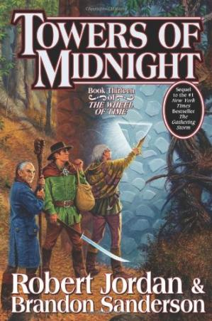 表紙 Towers of Midnight (Wheel of Time)