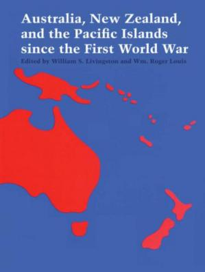 Copertina Australia, New Zealand, and the Pacific Islands since the First World War