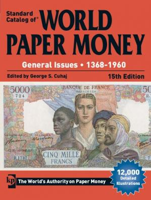 Book cover Standard Catalog of World Paper Money, General Issues, 1368-1960