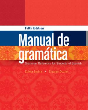 Buchdeckel Manual de gramatica - Grammar Reference for Students of Spanish
