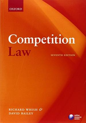 Book cover Competition Law