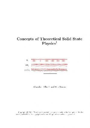 Copertina Concepts of theoretical solid state physics