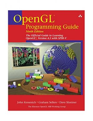 Book cover OpenGL Programming Guide: The Official Guide to Learning OpenGL, Version 4.5 with SPIR-V