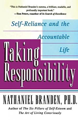 Book cover Taking Responsibility: Self-Reliance and the Accountable Life