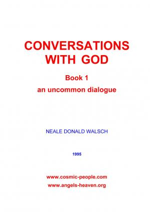 Book cover CONVERSATIONS WITH GOD- BOOK 1