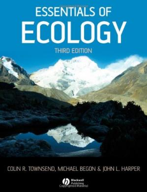 Book cover Essentials of Ecology
