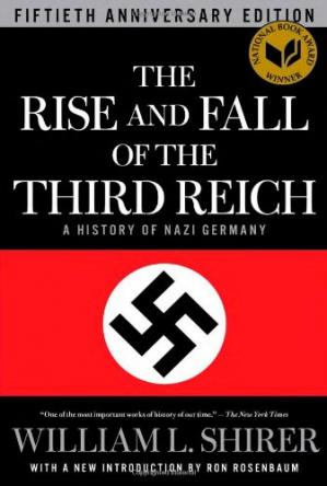 पुस्तक कवर The Rise and Fall of the Third Reich: A History of Nazi Germany