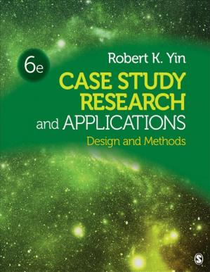 Book cover Case study research and applications : design and methods