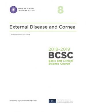 Book cover 2018-2019 BCSC (Basic and Clinical Science Course), Section 08: External Disease and Cornea