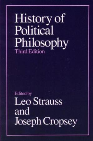 Book cover History of Political Philosophy