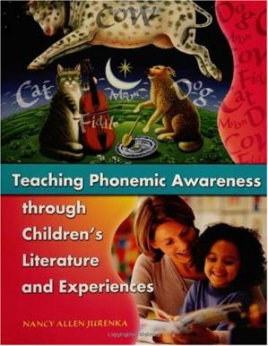 Portada del libro Teaching Phonemic Awareness through Children's Literature and Experiences